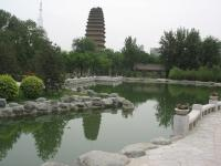 Small Goose Pagoda Charming Landscape Xian