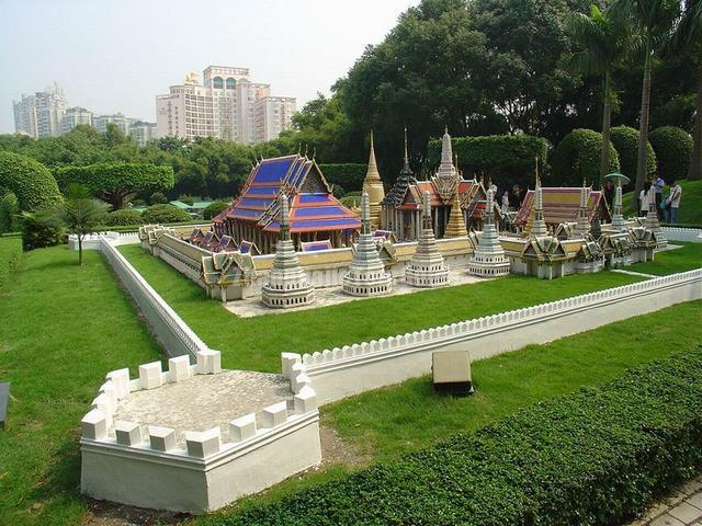 Splendid China Theme Park Minority Building Shenzhen