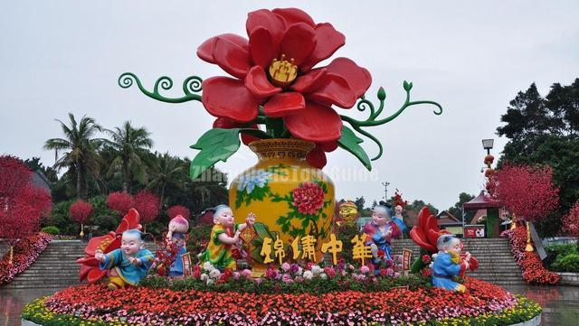 Splendid China Theme Park Beautiful Scenery China
