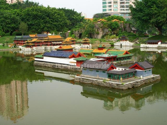 Shenzhen Splendid China Theme Park Micro Building