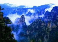 Mountains at Zhangjiajie Suoxi Valley Nature Reserve