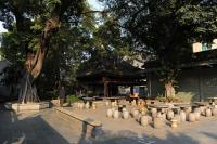 Guangzhou Temple of Six Banyan Trees Landscape