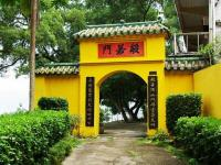 Temple of Six Banyan Trees Door Guangzhou China