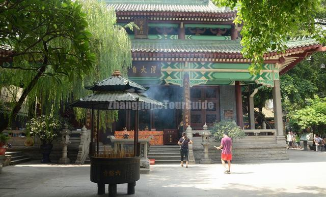 Guanyin Hall in Temple of Six Banyan Trees Guangzhou