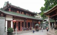 Main Palace in Temple of Six Banyan Trees Guangzhou