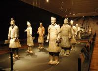Terracotta Warriors and Horses Museum Well Preserved Terracotta Warriors
