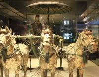 Terracotta Warriors and Horses Museum Exhibit Xian