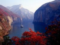Chongqing Three Gorges Autumn Scenery