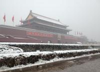 Tiananmen Square Winter Beijing
