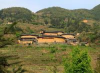 Marvelous Tianluokeng Tulou Cluster