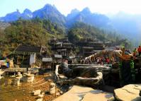 The Outdoor Scene of Tianmen Fox Fairy Show