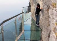 Glass Walkway in Zhangjiajie Tianmen Mountain National Park