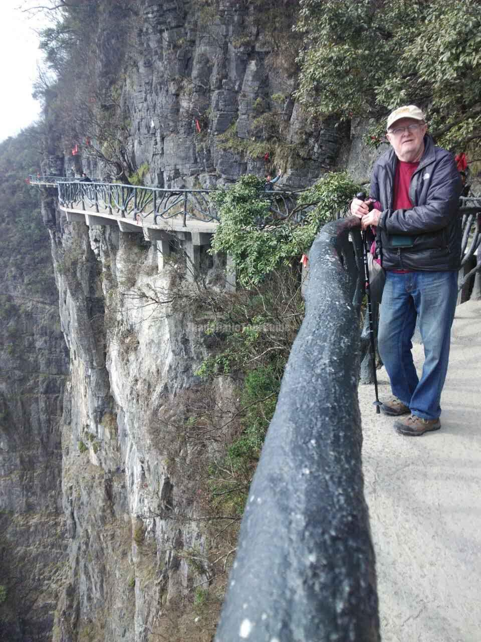 Tianmen Mountain Ghost Plank Road