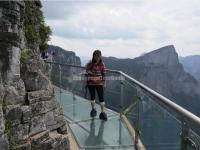Glasswalk in Tianmen Mountain