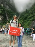 Tianmen Cave in Tianmen Mountain