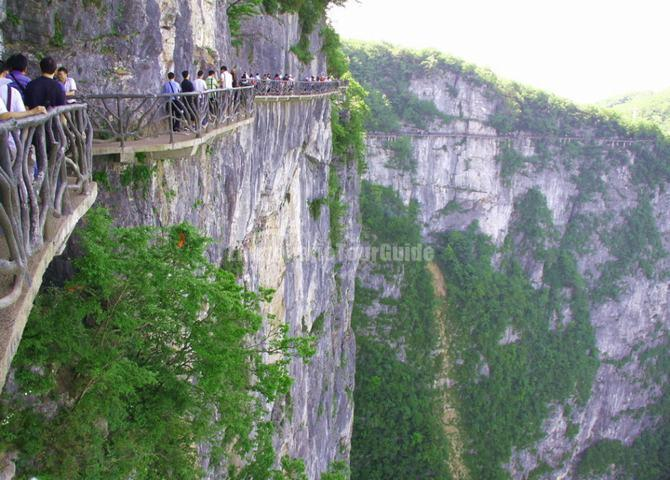 Plank Road Tianmen Mountain