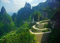 Avenue Leading to the Sky Tianmen Mountain