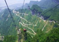 Tianmen Mountain National Park Tongtian Avenue
