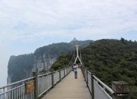 Zhangjiajie Tianmen Mountain Bridge