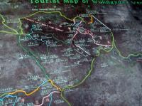 Tourist Map of Wulingyuan Scenic Area