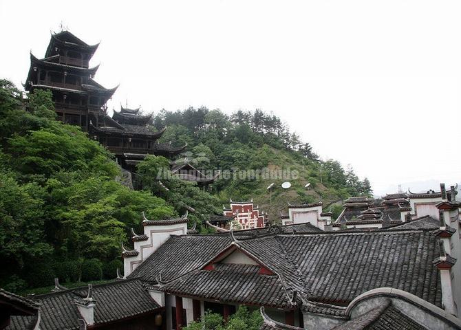 The Buildings at Tujia Folk Custom Park