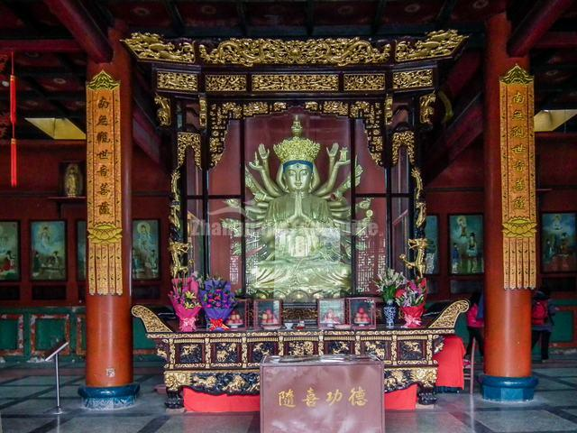Wenshu Temple Buddhist Temple
