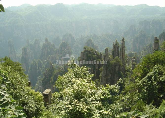 Wulingyuan Scenic and Historic Interest Area China