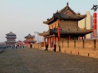 Xian City Wall Architecture
