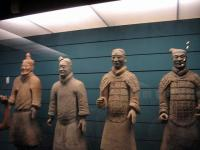 Xian Musuem Well Preserved Terracotta Warriors