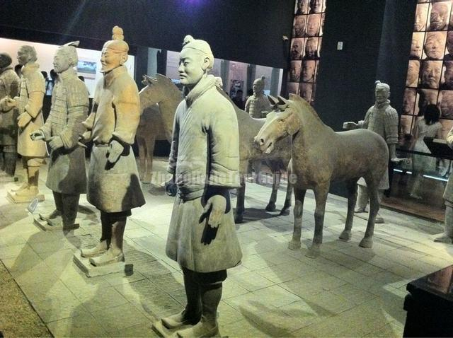 Xian Musuem Terracotta Warriors Exhibit