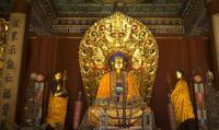 The Figure of Buddha at Yonghe Temple