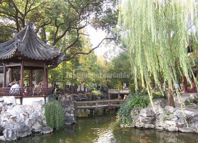 Shanghai Yu Garden Landscape