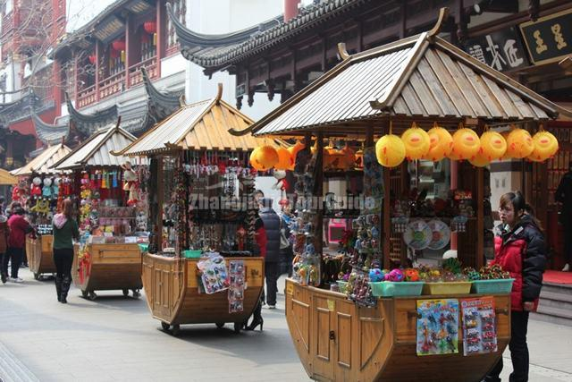 Exhibition Stand For Tv : Yu market beautiful roadside stand shanghai