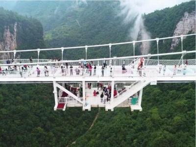 Zhangjiajie Glass Bridge Bungee Jump