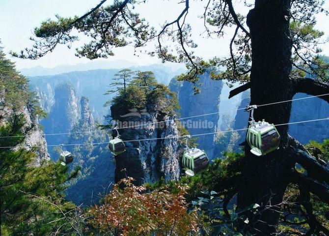 Zhangjiajie National Forest Park Cable Car