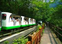 Zhangjiajie National Forest Park Little Tourist Train