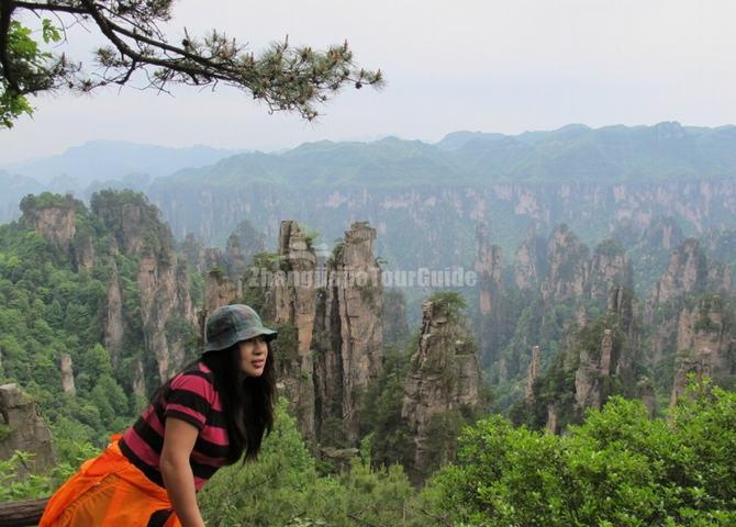 West Sea Scenic Area in Zhangjiajie National Forest Park