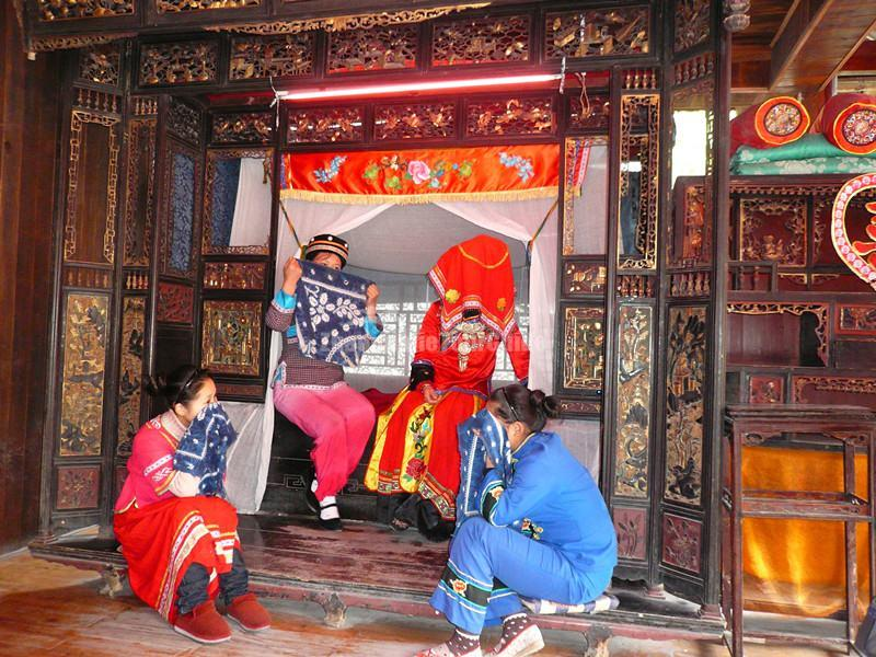 Crying Marriage of Tujia Ethnic Group in Zhangjiajie